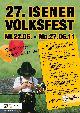 27. Volksfest Isen Bieranstich