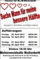 KLJB Maitenbeth Theater: Suche Mann für meine bessere Hälfte