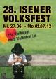 28. Volksfest Isen Volksfest-Eröffnung, Tag der guten Nachbarschaft und der Behörden