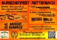 BV Rettenbach-Pfaffing 5-jähriges Gründungsfest - Bieranstich & Burschenwettkämpfe mit Barbetrieb