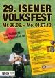 29. Volksfest Isen Volksfest-Eröffnung, Tag der guten Nachbarschaft und der Behörden