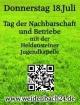 Schützenverein Weidenbach 125-jähriges Gründungsfest – Tag der Nachbarschaft und Betriebe