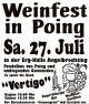 BV Poing Weinfest