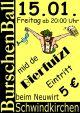 BV Schwindkirchen Burschenball