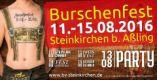 BV Steinkirchen 60-jähriges Gründungsfest – Bieranstich/Kabarett: Stephan Zinner