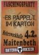 KLJB Maitenbeth Mega Faschingsparty Es rappelt im Karton